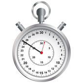 Stopwatch. Vector illustration. — Stock Vector