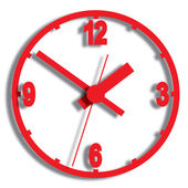 Parede relógio digital. — Vetorial Stock
