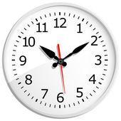 Reloj digital de pared — Vector de stock