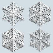 Decorative abstract snowflake. — Stockvektor