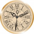 Vector de stock : Antique clock