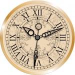 アンティークの時計 — ストックベクタ