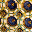 The wonderful ceiling of 'Varkert' bazaar in Budapest — Stock Photo #10122949