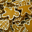 Foto Stock: Gingerbread cookies