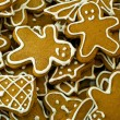 图库照片: Gingerbread cookies