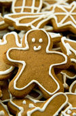 Gingerbread cookie — ストック写真