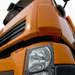 Stock Photo: Front of lorry