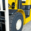 Stockfoto: Front of forklift