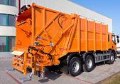 Caminhão de lixo — Foto Stock