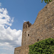 Walls of castle Holloko — Stockfoto