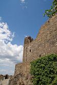 Walls of castle Holloko — Stock Photo