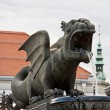 Stock Photo: Dragon of Klagenfurt