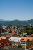 Panorama of Klagenfurt — Stock Photo