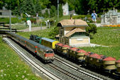 Railway model — Stock Photo