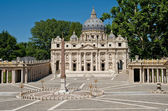 St Peter Basilica — Stock Photo