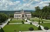 Garden pavillion of Melk Abbey — Stock Photo