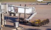 机场服务 — 图库照片