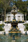 在巴库的喷泉 — 图库照片