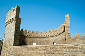 Bastion of the old town of Baku — Foto Stock