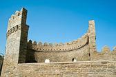 Bastion van de oude stad van bakoe — Stockfoto