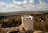 Panorama from the castle Csokako — Stock Photo