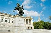 Detail of the Austrian Parliament — Foto Stock