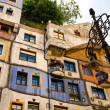 Hundertwasser House — Stock Photo