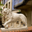 Lion of the Hunderwasser House — Foto de Stock