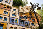 Dom hundertwassera — Zdjęcie stockowe