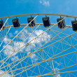 Moder ferris wheel — Stock Photo