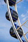 Detail of a modern ferris wheel — Stock Photo