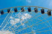 Moder ferris wheel — Stock Photo
