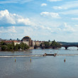 Foto de Stock  : View of Prague and Vltava
