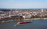 Panoramic view of Cologne — 图库照片