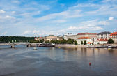 View of Prague and Staromestska — Stock Photo