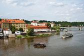 Prague and Malostranska — Stock Photo