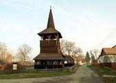 Belfry of a church — Stock Photo