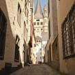Stock Photo: Backstreet of Cologne