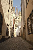 Backstreet of Cologne — Stock Photo