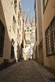 Backstreet of Cologne — Stock Photo