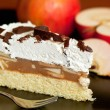 Foto Stock: Apple and cheese cake