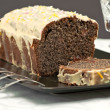 Foto Stock: Cake made of poppy seed