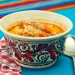 Foto Stock: Cabbage soup