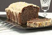 Cake made of poppy seed — Stock Photo
