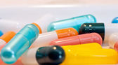 Colourful capsules — Stock Photo
