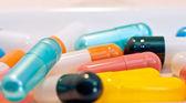 Colourful capsules — Stock Photo