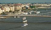 Ships on the Danube — Stock Photo