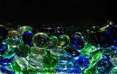 Glass drops — Stock Photo