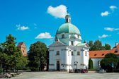 Saint Kazimierz church — Stock Photo