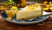 Lemon pie — Stock Photo
